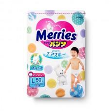 Tã quần Merries size L 50 miếng