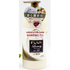 Sữa tắm sáng da hương thảo mộc FUNS