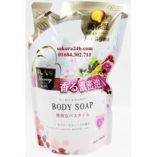 Sữa tắm sáng da hương hoa quả FUNS (dạng túi)