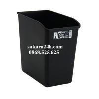 Thùng đựng rác hình chữ nhật (màu đen)